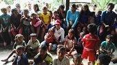 Primera dama llevó ayudas a indígenas de Caño Mochuelo