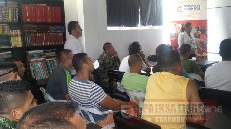 Atención a personal recluido en centro militar de Yopal realizó Unidad para las Víctimas