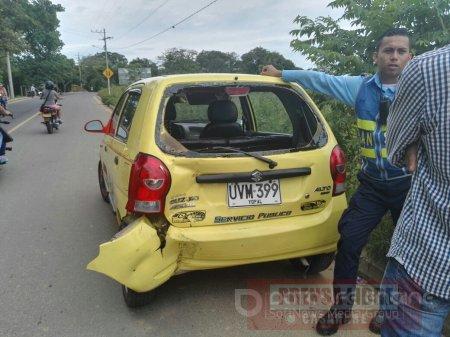 Motociclista gravemente lesionado en accidente en vía a Llano Lindo en Yopal
