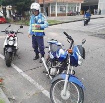Ladrones de moto ocasionaron accidente de tránsito