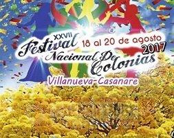 Festival Nacional de Colonias en Villanueva