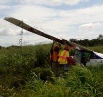 Avioneta se accidentó en Trinidad