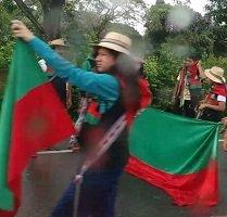 Comunidad Nasa continuará hoy minga indígena en la vía marginal del llano