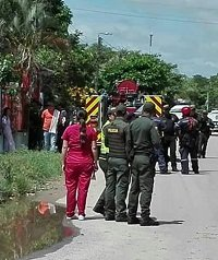 Desalojo en Maní terminó en intento de suicidio