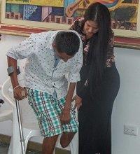 12 casanareños recibirán prótesis que les permitirán volver a caminar