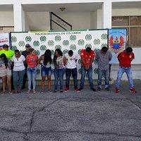 Atraparon bandas que comercializaban estupefacientes en Casanare