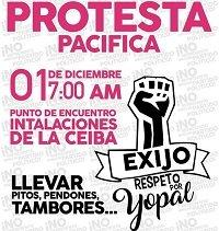 Este viernes anuncian protesta contra gerente de Ceiba EICE