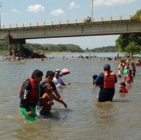 Bomberos Maní salvó a 4 personas de ahogarse en el río Cusiana