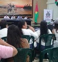 Socialización de política pública de la mujer en la Asamblea de afán y para cobrar un acta de liquidación