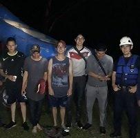 Rescatados 5 jóvenes en el río Cusiana
