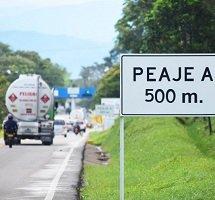 Por 6 días cierre de un carril en el peaje Veracruz en la vía Yopal - Villavicencio