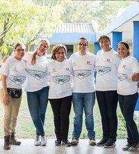 La Patrulla Aérea llegó a Villanueva con el apoyo de GeoPark