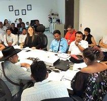 Indígenas solicitaron mejoramiento de infraestructuras educativas