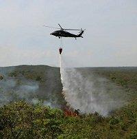 Liquidado incendio forestal en La Macarena que amenazaba Caño Cristales