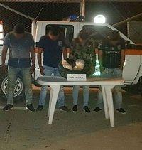 Cargamento de base de coca que tenía como destino Yopal fue descubierto entre llanta de repuesto