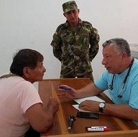 680 personas se beneficiaron en jornada de apoyo del Ejército en La Yopalosa