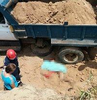 Alud de tierra mató a un palero a orillas del río Únete en Aguazul