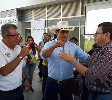 Gobernador Alirio Barrera entregó el complejo deportivo Los Hobos a la Alcaldía de Yopal