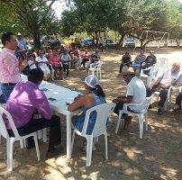 Comunidad de la vereda San Rafael de Morichal recibió visita del Alcalde de Yopal