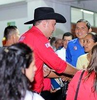 Ante comunidad estudiantil Jesús Yonency Cuevas Amaya L101 presentó su propuesta como representante a la cámara