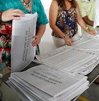 Sin novedades avanzan escrutinios del proceso electoral del domingo