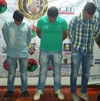 Capturados integrantes de grupo de delincuencia organizado dedicado al abigeato y la extorsión en Casanare