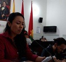 Asesora de Planeación respondió en debate de control político del Concejo de Yopal