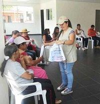 Acompañamiento a víctimas de la violencia en Chámeza