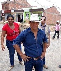 Gobernador Alirio Barrera inspeccionó obras en Bosques de San Martín en Yopal