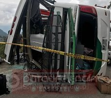 Dos personas murieron y once resultaron heridas en accidente de bus Libertadores en la vía del Cusiana