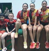 Casanare obtuvo medalla de bronce en el nacional de tenis de mesa en Bucaramanga