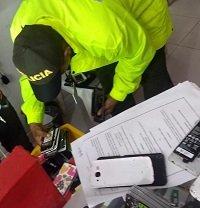Redada contra la comercialización ilegal de equipos móviles en Casanare