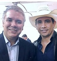 Presidente Iván Duque se puso el sombrero por Casanare