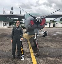 Una mujer es la nueva piloto de los Caraván C-208 en el grupo aéreo de Casanare