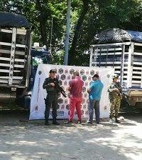 Ejército incautó en Hato Corozal 29 reses de origen venezolano