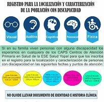 En Yopal actualizarán registro de población con discapacidad