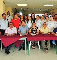 Directivos docentes de la zona norte se reunieron con Secretaria de educación del Departamento