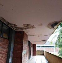 Estudiantes del Colegio Jesús Bernal Pinzón de Maní denuncian que se está cayendo a pedazos