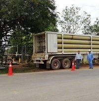 Gas comprimido para el norte de Casanare mientras se repara gasoducto en el río Pauto