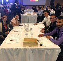 Estudiantes de Unitrópico participan en concurso académico nacional de economía