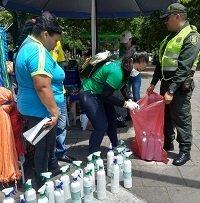 Operativo de control a la venta de productos químicos insecticidas en las calles de Yopal