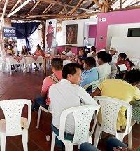 Mesa de concertación con comunidades indígenas de Casanare sobre inversiones y programas en educación
