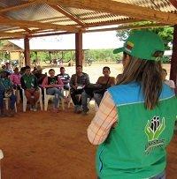 La estrategia del ICBF para disminuir índices de desnutrición en niños de 10 comunidades indígenas de Caño Mochuelo