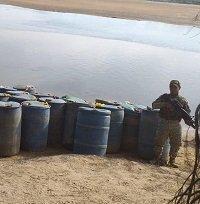 Incautados 1.650 galones de ACPM en Vichada
