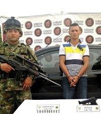 Capturado sicario dedicado a asesinatos selectivos en Arauca