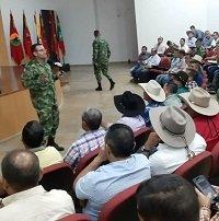 Ejército precisó a gremios de Casanare Plan Bicentenario y permisos especiales de porte de armas