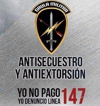 11 extorsionistas han sido capturados este año en Casanare por el Gaula Militar