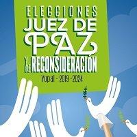 El 14 de abril yopaleños elegirán entre 43 candidatos a Jueces de Paz y Reconsideración