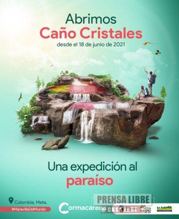 Caño Cristales nuevamente está abierto al público - Noticias de Colombia