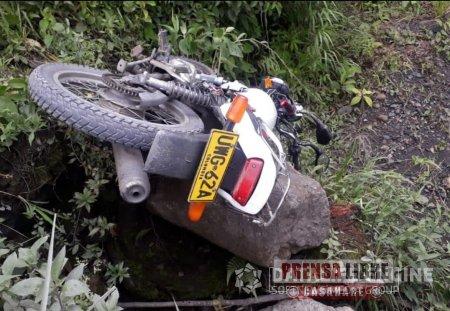 Un motociclista murió en accidente de tránsito en la vía del Cusiana - Noticias de Colombia